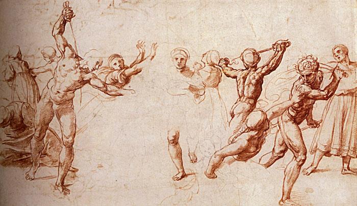 Raphael, The Massacre of the Innocents, 1510-1514